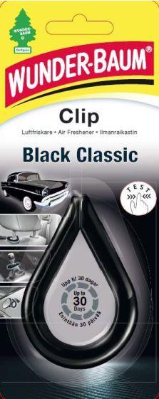 WUNDERBAUM CLIP BLACK CLASSIC