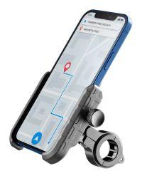 Telefonholder for sykkel med side-klemmer og kuleledd