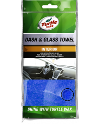 TURTLE WAX MIKROFIBERKLUT DASH & GLASS