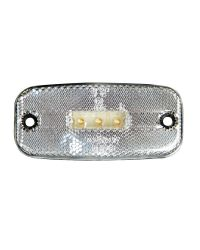 POS. LIGHT LED 111X50MM WHITE
