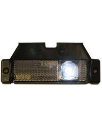 POSISJONS LYS LED HVIT 12-24V