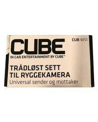 RYGGEKAMERA TRÅDLØS SENDER/MOTTAKER