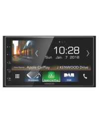KENWOOD MULTIMEDIA BILSTEREO MED CARPLAY OG ANDROID AUTO