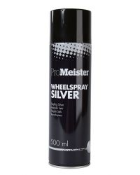 PROMEISTER WHEEL SPRAY SILVER 500ML