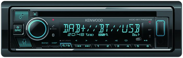 KENWOOD CD RADIO MED DAB OG BT